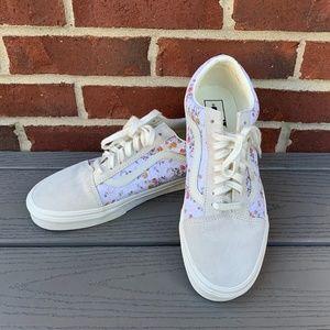 Vans Old Skool Floral & Marshmallow Sneakers